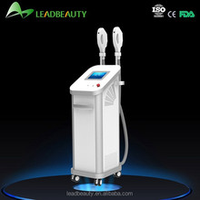 Tri cooling system hair removal ipl galvanic facial beauty machine
