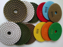 resin Diamond Dry Polishing Pad for Polishing convex or edges