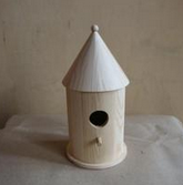 Wooden Pet House Wholesale Manual Cheap Lovely Small Bird House