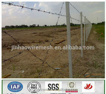 China manufacturer single strand twist strand galvanized Barbed Wire factory