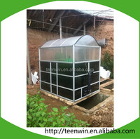 Small/mini size biogas power plant/digester
