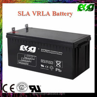 CE passed 29 years maintenance free deep cycle solar battery ups battery 12v 200ah battery