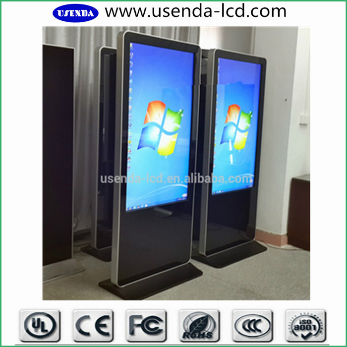 55inch Android Touch Screen Free Stand Digital Signage