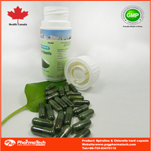 OEM private label spirulina slimming capsule