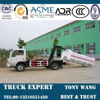 5cbm Roll-off Garbage Truck, hook lift garbage truck for sale