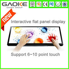 Gaoke 60 inch led tv touch screen all in one PC TV