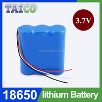 4.2 volt Battery 6600mah 18650 Rechargeable Li-ion Battery Pack For Electronic Tools