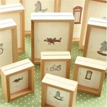 luxury design wooden photo frame for wedding decoration wholesale hot sale