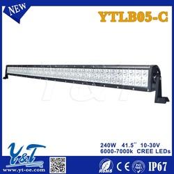 Most popular off road IP67 240W 41.5inch LED light bar