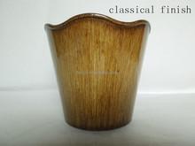 Plastic Flower Pots with 4 finish (3 sizes) Round wholesale