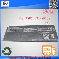 For ASUS Li-polymer battery pack C31-EP102 Eee Pad Slider EP102 11.1V 2260mAh batterires