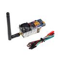 100% original boscam 5.8g 500mw fpv 8 canais 5km faixa de áudio sem fio transmissor de vídeo para ts352 quadcopeter multicopter