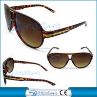 2014 Most Popular plastic aviator sunglasses fashion style custom sunglass(BSP1046)