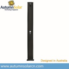45L Aluminium outdoor shower for swimming pool and garden