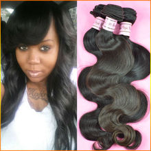 20 inch Classic 6A Brazilian Body Wave Human White Hair Extensions