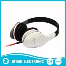 Fashionable Adjustable on-ear Stereo Headphones smart phone headphone