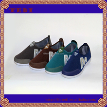 2015 New Hot Sale Popular esporte Design Casual lazer confortável slip on homens sapatos de malha