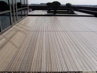 Waterproof wpc planks terraces, wpc machine, cheap composite decking