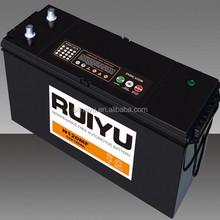 "12V120AH ""ruiyu"" brand car battery from car manufacturer"