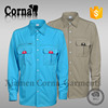 2015 wholesale green color combination mens waterproof hyperelastic fabric windbreaker jacket with high quality