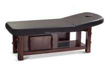 comfortable classical stable wood massage bed for SPA salon