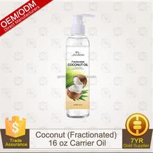 Fractionated Coconut Oil - 100% Pure Premium Grade - BIG 16Oz - Best Carrier Oil & Base For Essential Oil