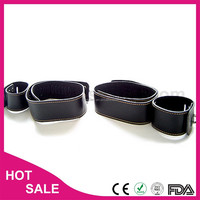funny sex bondage products different collar and cuff shirt hands restraint sex set product