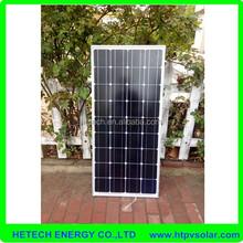 solar panel 600w, 6 pieces of mono best price power 100w solar panel
