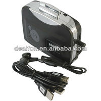 USB Audio Cassette Tape Converter to MP3 CD Player PC