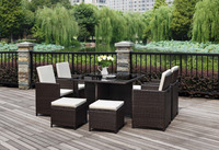 export Italy market HB21.0395 garden furniture table chair set