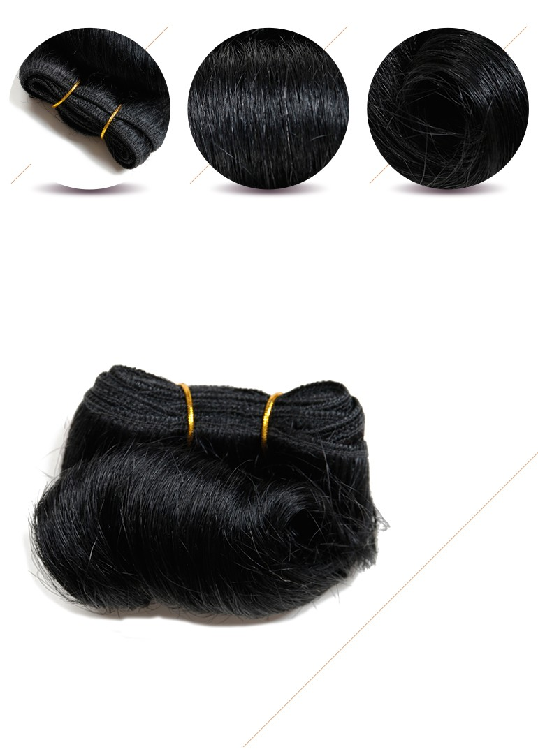 Cheap Price Miss Rola Short Hair Extension Black Hairstyles For