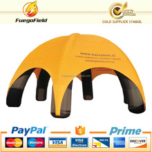 inflatable giant spider tent/spide dome for advertising for car cover