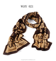 2015 Winter Unisex's most fashionable best-selling knitted classic jacquard pattern long scarf shawl pashmina scarf