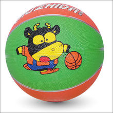 official 5 size rubber basketball eco-friendly basketball