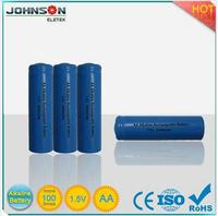 phone battery aa 1.5v rechargeable battery 3.7v 130mah lipo battery