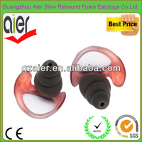 Noise canceling hearing protection silicon earplug with filter