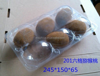 China factory Plastic ventilated fresh fruits and vegetable box kiwi
