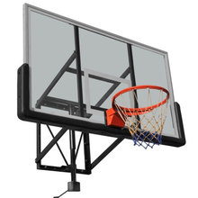 Professional glass backboards with net and basket