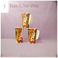 Ondulação descartável copo de papel / parede dupla xícara de café do ofício de papel /