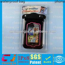 Gran promoción cubierta del teléfono a prueba de agua para el iphone 4s con certificado IPX8