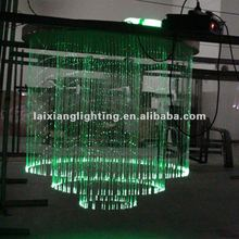 2012 green fiber home chandelier with remote
