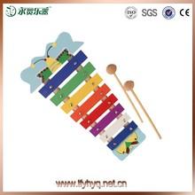giocattoli musicali per bambini nuovo prodotto caldo 8 nota glockenspiel