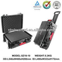 heavy waterproof gun case with handle
