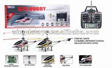 GS370 3 Channel Infrared Control RC LED Light Helicopter