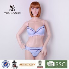 China Manufacturer Young Young Girl Polyester Women Brassiere Plus Size