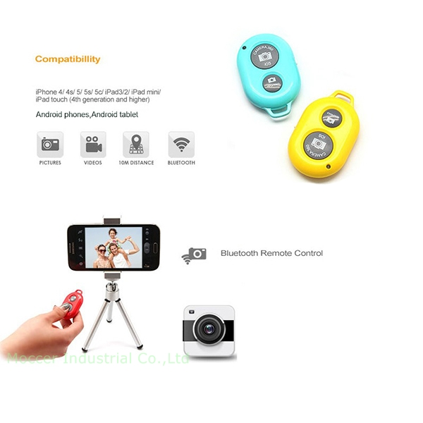 cheap mobile phone accessory best wireless shutter release with button