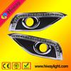 High quality hiway daytime running light for honda crv 2012 auto accessories led drl fog light