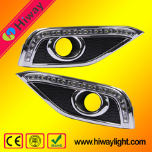 High quality hiway daytime running light for honda crv 2012 auto accessories led drl fog light