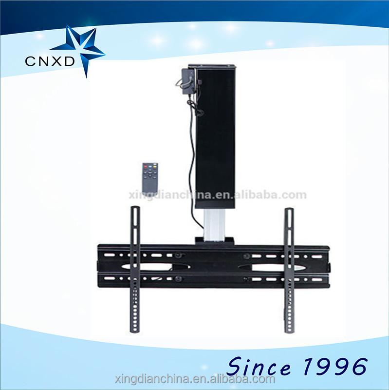rotation bracket motorized tv lift system for 65 led lcd. Black Bedroom Furniture Sets. Home Design Ideas