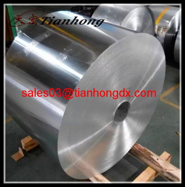 pure aluminium strip jamp roll aluminium foil